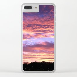 Atlanta Sunset Clear iPhone Case