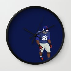 Champs are Here Wall Clock