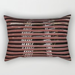 beach cafe Rectangular Pillow