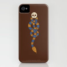 The Scarf Mark - Blue and Gold iPhone (4, 4s) Slim Case