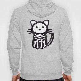 Skeleton Cat Halloween Hoody