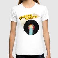 vampire weekend T-shirts featuring Vampire Weekend - Chicago by Luke Eckstein