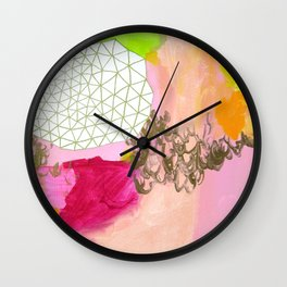 Clouds 3 Wall Clock