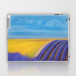 LAVENDER FIELD of SANTA YNEZ Laptop & iPad Skin