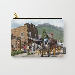 Catch the Afternoon Stage out of Silverton Carry-All Pouch