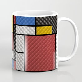 Mondrian in a Sofa-Style Coffee Mug