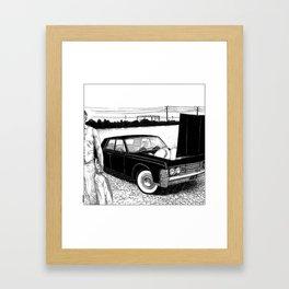 asc 637 - Les jumelles trépidantes (The V2 engine) Framed Art Print