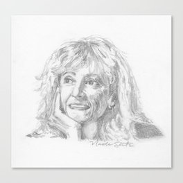 Marjory Wentworth Canvas Print