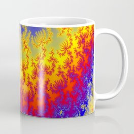 Fractal Strata Coffee Mug