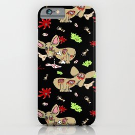 Zombie Chihuahua iPhone Case