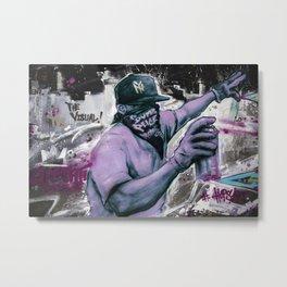 Bushwick's Street Arts Metal Print