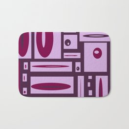 Fun With Creating Purple Play #decor #buyart #society6 Bath Mat