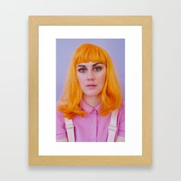 celia as me Framed Art Print