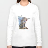 minnesota Long Sleeve T-shirts featuring Minnesota ii by Isabel Moreno-Garcia