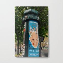Paris Street Art VI Metal Print