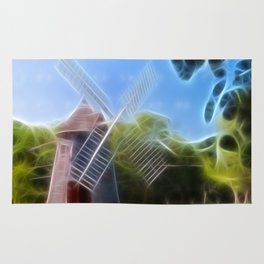 Windmill Dreams Photography Rug