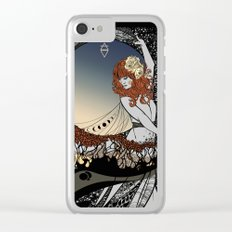 How Big, How Blue, How Beautiful Clear iPhone Case