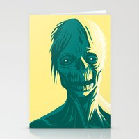 zombie Stationery Cards featuring Zombie by Jasn