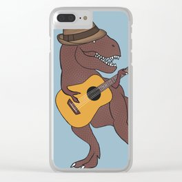 He-Rex Hipster Acoustic Clear iPhone Case
