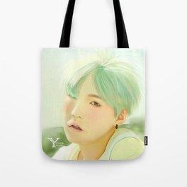 Mint Yoongi Tote Bag