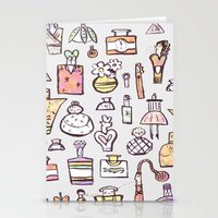 perfume Stationery Cards featuring Perfume  by Maddy Vian