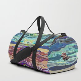 Paint Mandala No. 7 Duffle Bag