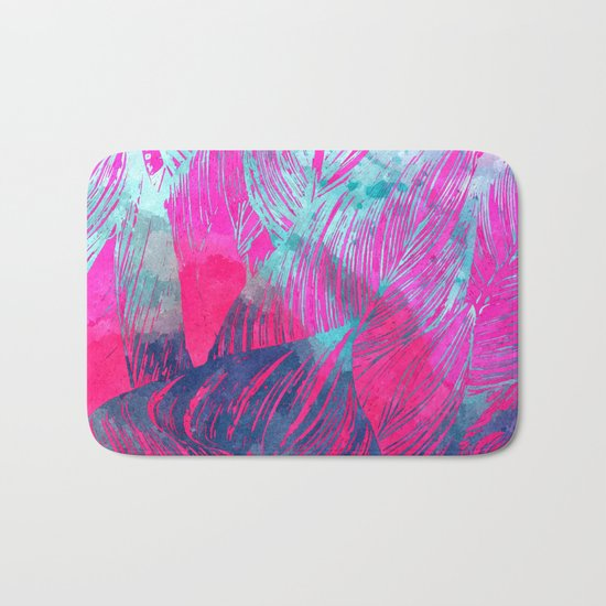 Hot n Drunk Pink #society6 #decor #fashion #buyart Bath Mat