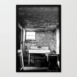 Scary Basement Canvas Print