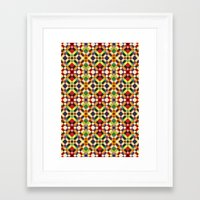 pixel Framed Art Prints featuring Pixel by Goncalo Viana