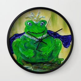 King for a Day! Wall Clock
