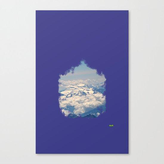 zirve Canvas Print