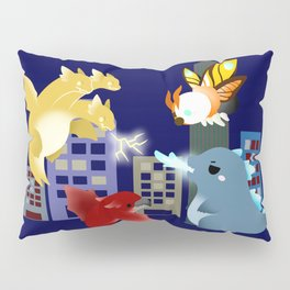 King Monsters Pillow Sham