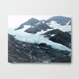 Glacier run | landscapes Metal Print