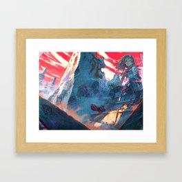 Husks Framed Art Print