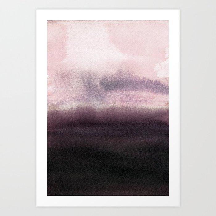 Twilight Landscape Art Print