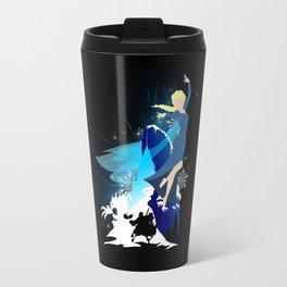 The Queen of Snow - Queen Elsa of Arendelle Travel Mug