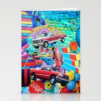 cars Stationery Cards featuring Cars by John Turck