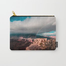 Rainbow over the Canyon Carry-All Pouch