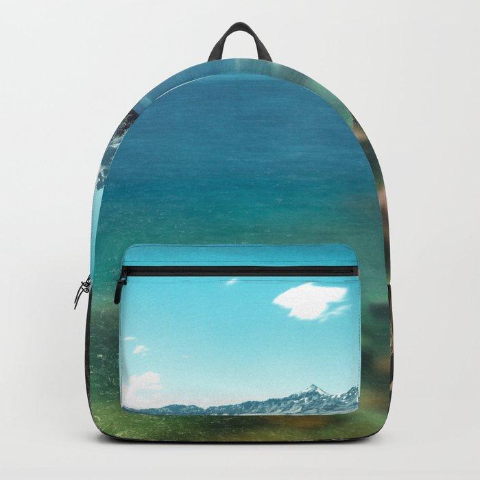 Summertime Lakeside - Crater Lake Backpack