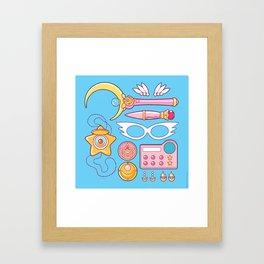 Moonie Starter Kit Framed Art Print