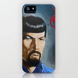Mirror Mirror Spock iPhone Case