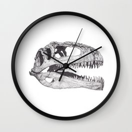 The Anatomy of a Dinosaur II - Jurassic Park Wall Clock