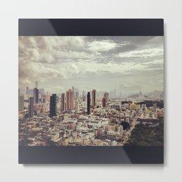 Infinite City Metal Print