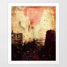 Glasgow studies Art Print
