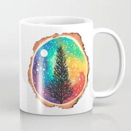 Rainbow Galaxy Tree Coffee Mug