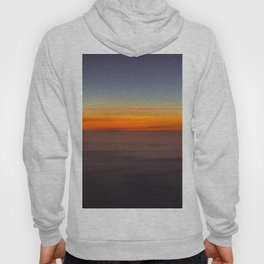 Sunrise over clouds Hoody