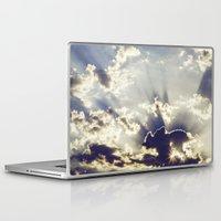 oslo Laptop & iPad Skins featuring Oslo Sky  by Håkon Jørgensen