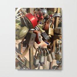 Locks Metal Print