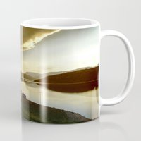 norway Mugs featuring Norway by Sushibird