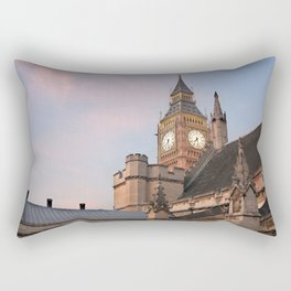 Big Ben over London Rectangular Pillow